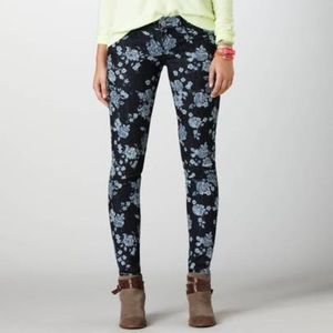 American Eagle Outfitters Denim Floral Jeggings